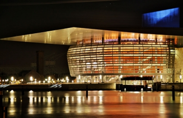 The Copenhagen Opera House
