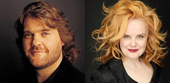 Bryn Terfel and Petra Lang performing during Ring cycle in Vienna tour.